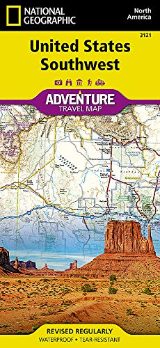 United States, Southwest (National Geographic Adventure Map, Band 3121)
