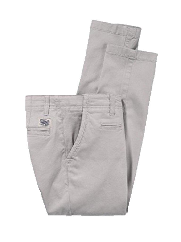 Tommy Hilfiger – Pantalón Largo Hudson Chino, niño, Color: Gris Claro