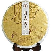 357g (12.6 oz) 2014 Year Yunnan Organic Moonlight Beauty White Buds puer Pu'er Pu erh Tea Raw Cake