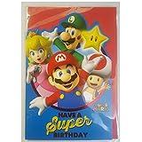 Super Mario Geburtstagskarte