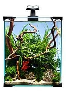Ppd Cube Style Nanoled Glass Aquarium, 25 x 25 x 30 cm