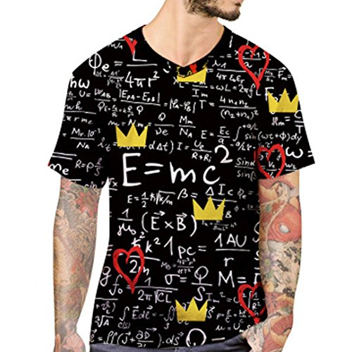 LuckyGirls Camisa Camisetas Originales Hombre Manga Cortos Verano Estampado  de Fórmula Deportivas Blusa Moda Polos Casuales f87f31325f957