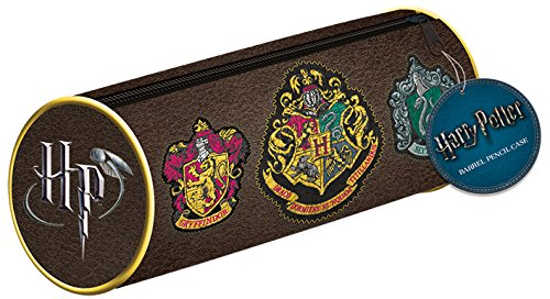 Pyramid international – astuccio harry potter con stemmi