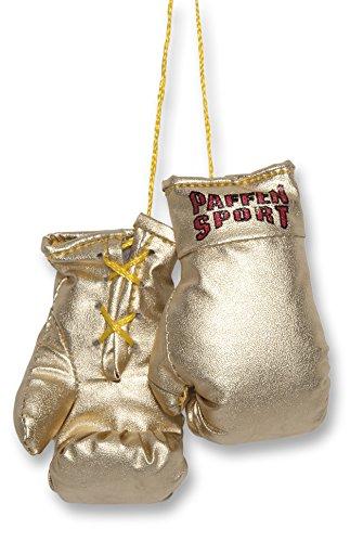 Paffen Sport Colour Mini Boxhandschuhe - Anhänger fürs Auto - Gold
