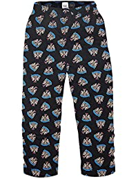 Newcastle United FC Official Football Gift Mens Lounge Pants Pyjama Bottoms
