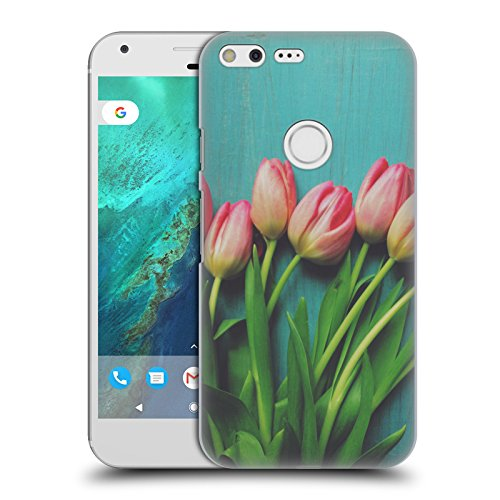 official-olivia-joy-stclaire-pink-tulips-on-the-table-hard-back-case-for-google-pixel-xl
