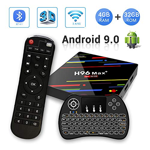 H96 MAX+ Android 9.0 TV Box 4GB RAM/32GB ROM 4K Ultra