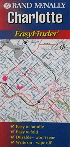 Rand McNally Charlotte Easyfinder Map (EasyFinder S.) - Nc Karte Charlotte