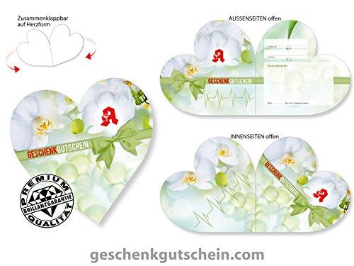 25 Stk. Herz-Gutscheine AP450 für Apotheken