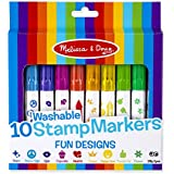 Melissa and Doug 10 Stamp Markers - Fun Designs