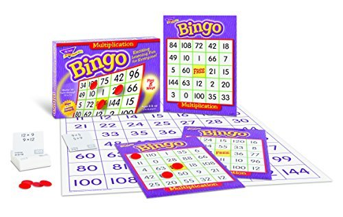Children's Multiplication Maths Bingo for 3 to 36 players! by TREND ENTERPRISES INC.