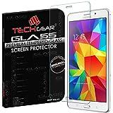 "TECHGEAR® Galaxy Tab 4 7.0 VERRE, Protecteur d'Écran Original en Verre Trempé Compatible pour Samsung Galaxy Tab 4 7.0"" avec WiFi SM-T230 (SM-T230 (Wifi))"