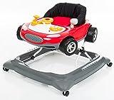 Fillikid Gehfrei Lauflernwagen Auto Exclusiv | Lauflernhilfe mit Spielbrett & Sicherheitsstopper | 3 fach höhenverstellbar | Baby Walker mit hochwertigen Einhang & elektronischen Spielzeug
