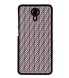 Fuson Pink Arrow Pattern Designer Back Case Cover for Micromax Canvas Xpress 2 E313 (Ethnic Pattern Patterns Floral Decorative Abstact Love Lovely Beauty)
