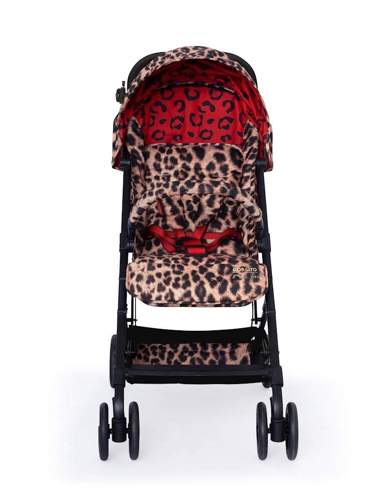 Cosatto Woosh Hear Us Roar Pushchair Cosatto Compact from-birth pushchair, carries up to 25kg child, so you can use it for longer Folds one-handed into small compact bundle, easy store and ultra lightweight for city life Luxury fabrics, rain cover, upf100+ double length hood and visor 2