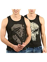 THE ARCHER Printed Men Skull Thung Combo Vest