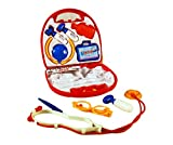 #10: Toyhouse Doctor Set, Red (9 Pieces)