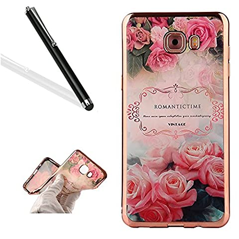 Galaxy J5 Prime Case Cover with Free Black Stylus Pen,Leeook
