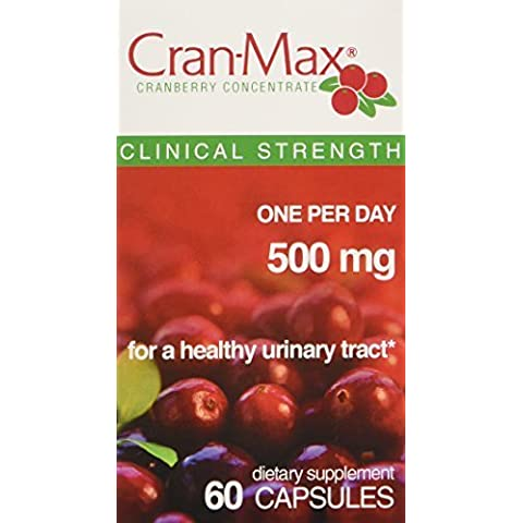 Faber-Castell Cran-Max Concentrate Capsules, Cranberry, 60 Count by Faber-Castell