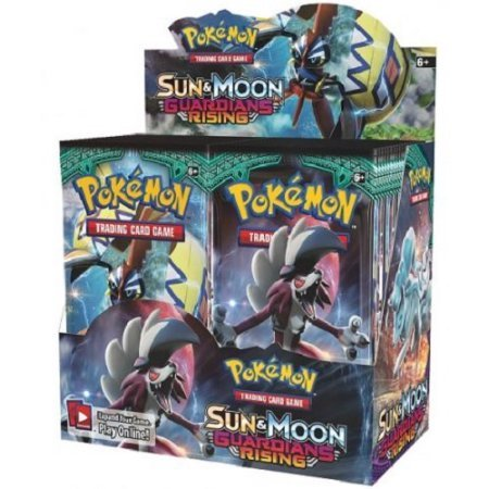 Image of Pokemon - Sun And Moon Guardians Rising Booster Box of 36 packets