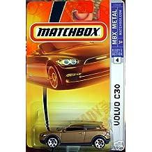 Mattel Matchbox 2007 MBX Metal 1:64 Scale Die Cast Car # 4 - Gold Volvo Hatchback C30