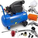 BITUXX® 50 Liter Druckluftkompressor Luftdruck Kompressor
