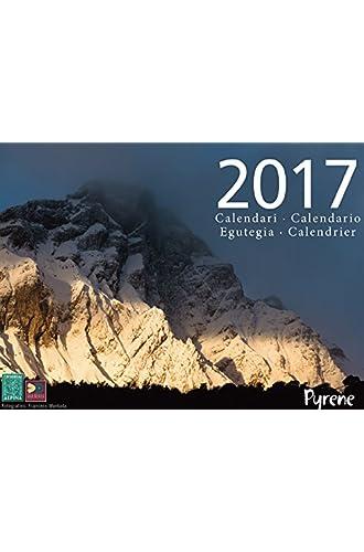 Calendario Pyrene 2017. Editorial Alpina.