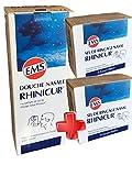RHINICUR - Kit Complet Douche Nasale + 2 Boites de 20 sachets de Sel de Rinçage RHINICUR (Kit)