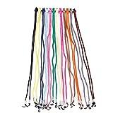 Desconocido 12 cordones para gafas, cadena, Colores surtidos