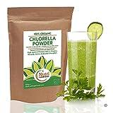 CHLORELLA BIOLOGICA in polvere - alta qualità, ricco di Proteine, in Magnesio, in Potassio, in fibra, in ferro e in verde clorofilla - 400g