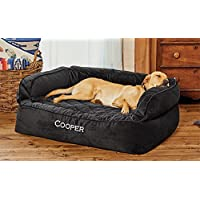 Orvis Memory Foam Couch Dog Bed / Medium Dogs Up To 40-60 Lbs., Slate