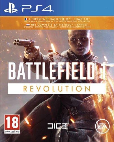 BF 1 PS-4 Revolution Edition AT Battlefield 1