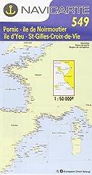 Carte marine : Pornic - St-Gilles-Croix-de-Vie
