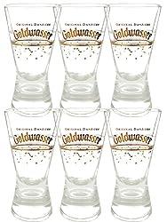 Der Lachs Danziger Goldwasser Shotglas 2 cl 6 Stück