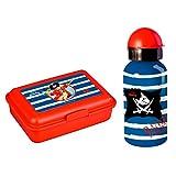 Spiegelburg Capt'n Sharky 2er Set 11083 12026 Alu-Trinkflasche + Butterbrotdose