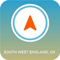 South West England, UK GPS