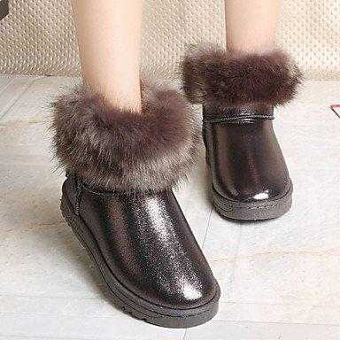RTRY Scarpe Donna Pu Autunno Inverno Lanugine Fodera Comfort Novità Snow  Boots Fashion Stivali Stivali Tacco