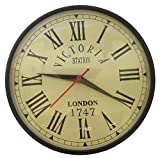 Kartique 8 Inch Wall Clock in Metal for ...