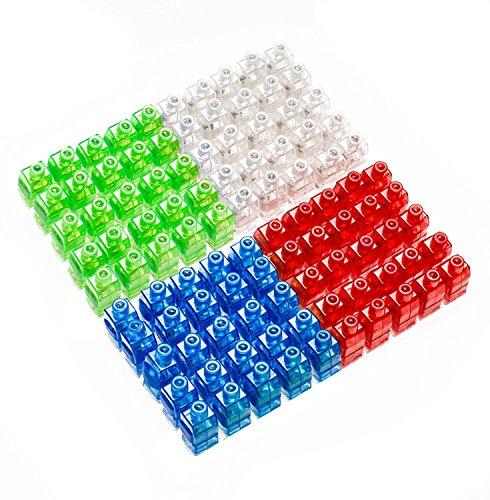 Preisvergleich Produktbild asdomo 100PCS LED Finger Licht leuchtet, Spielzeug Party Favor Supplies Neuheit Dazzling Toys