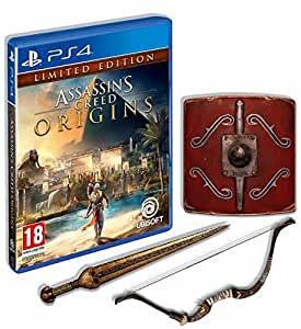 Assassins Creed Origins Limited Edition (PS4): Amazon.co ...