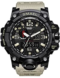 BINZI Sports Watches For Men/Digital Watches For Men/Digital Watch For Boys/Sports Watches For Boys (Khaki)