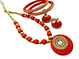 Best H&H Jewelry Cleaners - Hashini Jewels Multicoloure Silk Thread Free Size Jewellery Review