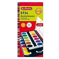 Herlitz 10199933 Schulmalfarben bzw. Deckfarbkasten