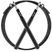 Corda per Saltare, JEFlex Qualità premium Corda salto Regolabile 3m per Esercizio e formazione