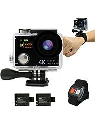 DAILY Original 4K Dual Display Mini Ultra HD 1080P WiFi DV Action Waterproof Sports Camera||Wasserdichte Sportkamera Camcorder mit Fernbedienung