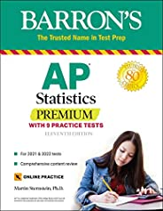 AP Statistics Premium: With 9 Practice Tests