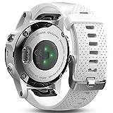 Garmin Fēnix 5S Smartwatch Gps-Multisportuhr, Silber, Armband Weiß, 42 mm -