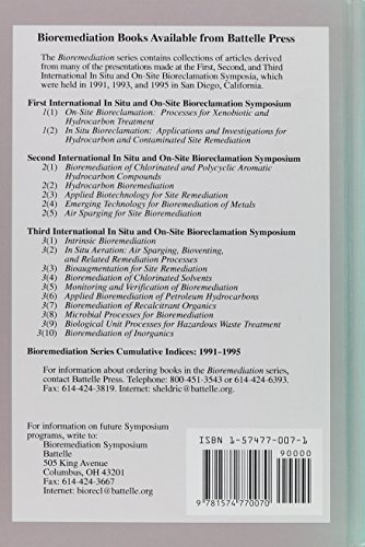 6: Applied Bioremediation of Petroleum Hydrocarbons: [Papers, 1995] / Ed. by Robert E.Hinchee.