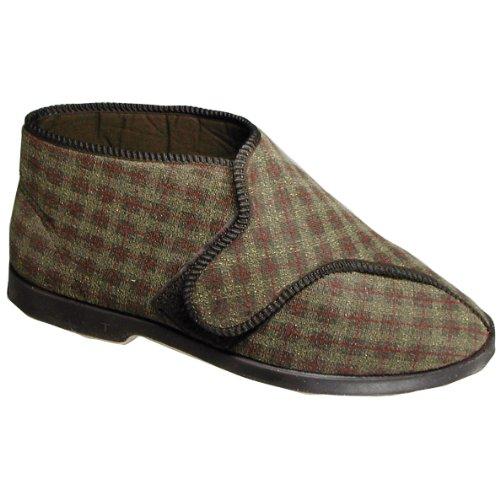 GBS Keswick - Pantofole con Strappo - Uomo Marrone