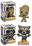 Funko POP! Guardians Of The Galaxy Vol. 2: Groot + Rocket - Marvel...